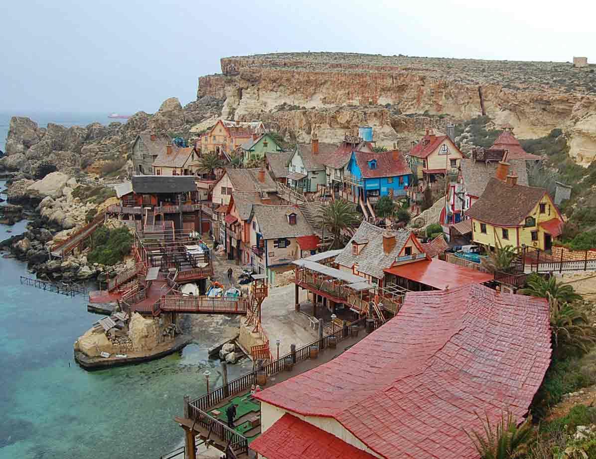 Winter Popeye Village Malta